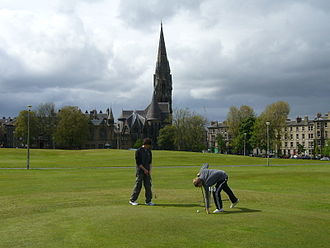 Tollcross, Edinburgh - Pitch and Putt on Bruntsfield Links