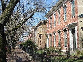 Butchertown, Louisville - Washington Street in Butchertown