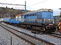 Bubeneč, zastávka Praha-Podbaba, lokomotiva 720 539 EŽ.jpg