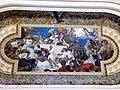 Bucuresti, Romania, Palatul Regal (Muzeul National de Arta al Romaniei - Sala Tronului - Pictura de Cecilia Crutescu Storck pe plafon -detaliu); B-II-m-A-19856.JPG