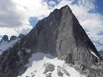 Bugaboo Spire - The east face of Bugaboo Spire.