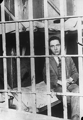 Leopold and Loeb - Leopold in Stateville Penitentiary, 1931