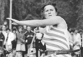 Antje Zöllkau East German javelin thrower