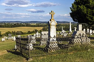 Burkittsville, Maryland - Union Cemetery in Burkittsville, established in 1831.