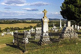 Burkittsville, Maryland - Union Cemetery in Burkittsville, established in 1831.
