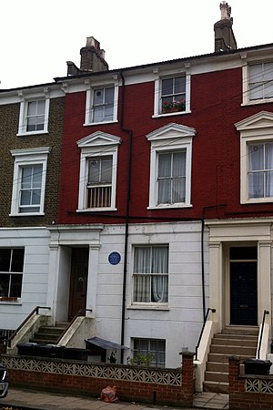 Violette Szabo - There is a blue plaque on the wall of the house where Violette Szabo grew up in Burnley Road, Stockwell.
