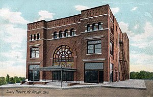 National Register of Historic Places listings in Pittsburg County, Oklahoma - Image: Busby Theater, Mc Alester, OK