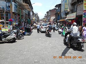 Busy Main Road of Nashik