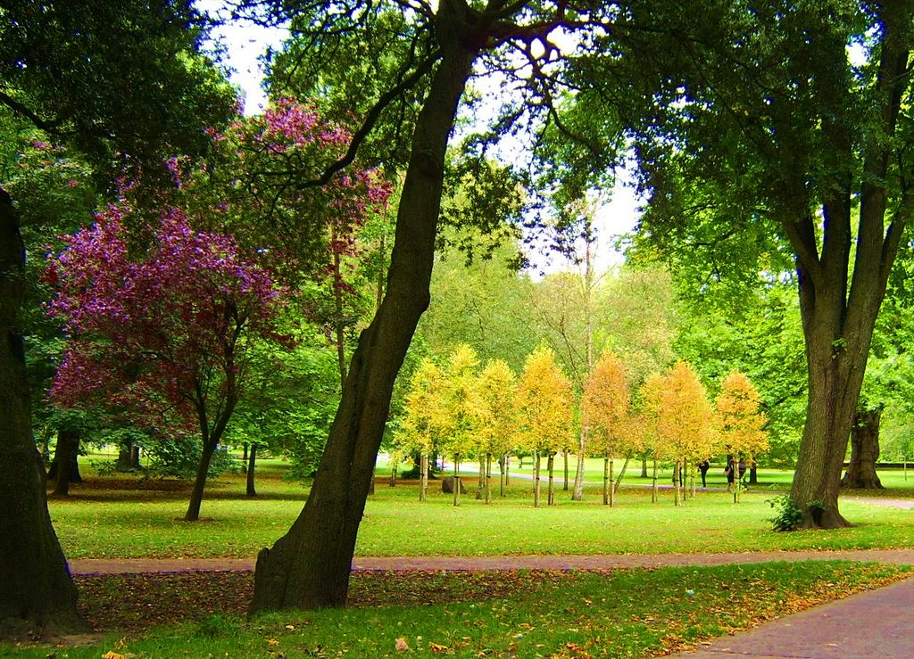 Bute Park, Cardiff, Wales