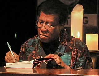 Octavia E. Butler American science fiction writer