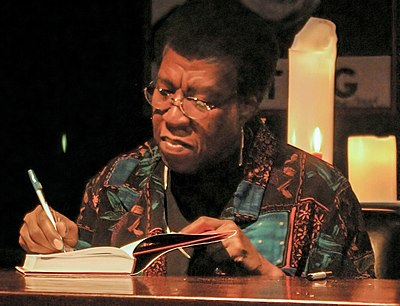 Picture of an author: Octavia E. Butler
