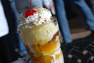 Butterscotch - A butterscotch sundae