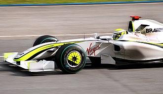 2009 Malaysian Grand Prix - Jenson Button took his second pole position of the season for Brawn GP.