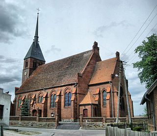 Bysław Village in Kuyavian-Pomeranian Voivodeship, Poland