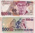Cédula 500000 Cruzeiros Mário de Andrade AnvRev.jpg
