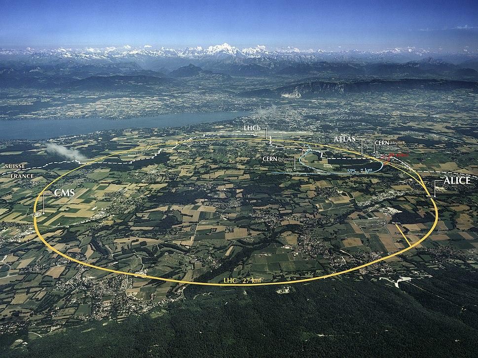 CERN Aerial View