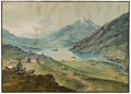 CH-NB - Alpen, Bergsee auf einem Schweizer Pass (?) CH - Collection Gugelmann - GS-GUGE-KÖNIG-B-5.tif