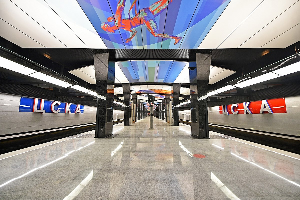 The interchange station Koptevo in the north of the capital of Russia will be built by the end of 2015 32
