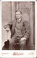 Cabinet card by Wakefield, Ealing - ca 1900 copy of an earlier image (8098047971).jpg