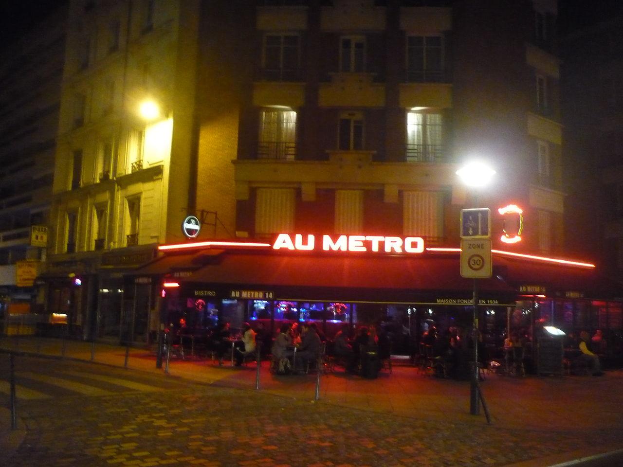 Losserand Caf Ef Bf Bd  Rue Raymond Losserand  Paris