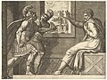 Caius Marius in Prison, two Cimbrian soldiers entering his cell MET DP821343.jpg