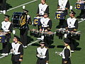 Cal Band section at halftime at UCLA at Cal 10-25-08 1.JPG