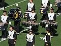 Cal Band section at halftime at UCLA at Cal 10-25-08 1.JPG