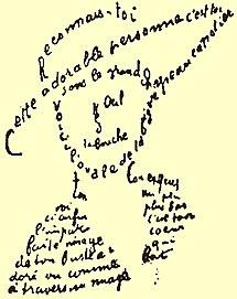 Caligrama Wikipedia La Enciclopedia Libre