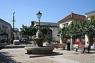 Camborne - Image: Camborne Commercial Square