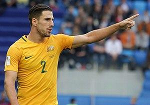 Milos Degenek - Degenek playing for Australia at the 2017 FIFA Confederations Cup