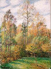 Autumn, Poplars, Éragny