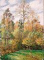 Camille Pissarro - Automne, Peupliers, Eragny (Autumn, Poplars, Eragny) - Google Art Project.jpg