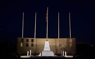 Coalition casualties in Afghanistan - Memorial Wall at Camp Bastion