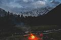 Campers enjoy under the shadow of Nanga Parbat.jpg