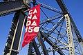Canada 150 Street Banner on the Alexandra Bridge in Ottawa, Canada.jpg