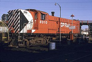 Canadian Locomotive Company - A Canadian Locomotive Company Baldwin DRS-4-4-1000 in Canadian Pacific Railway livery.