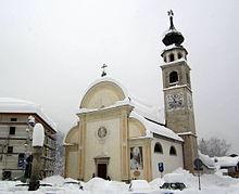 La plebana di san Giovanni Battista a Canale d'Agordo (Bl).