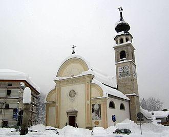 Canale d'Agordo - Parish Church