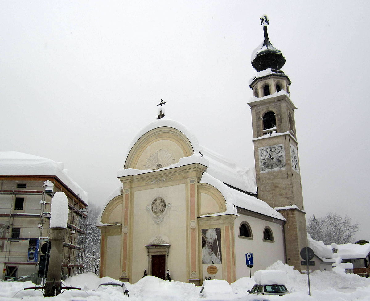 Chiesa arcidiaconale di agordo webcam