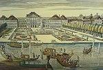 Canaletto am Schloss Nymphenburg-1761.JPG