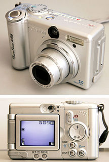 Digital camera Camera that captures photographs or video in digital format