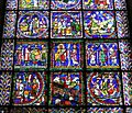 Canterbury Cathedral 022 lower scenes from Poor Mans Bible window.JPG