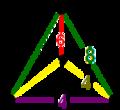 Cantitruncated order-4 octahedral honeycomb verf.png