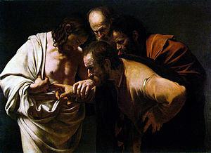 Caravaggio Doubting Thomas