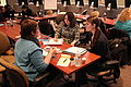 Care Ring Director, Steffi Travis and Seniors Meghan Gilling and Baillie Hunter working together on a social media solution for Care Ring - Flickr - Knight Foundation.jpg