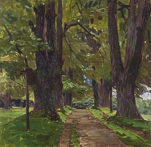 Carl Moll - Avenue