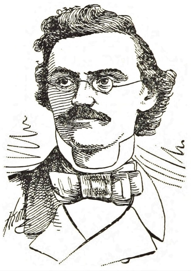 Carl Schurz as a young man