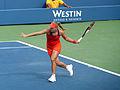 Carla Suárez Navarro (18) vs. Angelique Kerber (8) US Open 2013 (9673234468).jpg