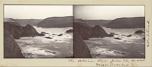 Albion River - Image: Carleton Watkins (American The Albion River from the Coast, Mendocino Google Art Project