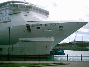 Carnival Miracle Bow Helsinki 16 June 2003.jpg